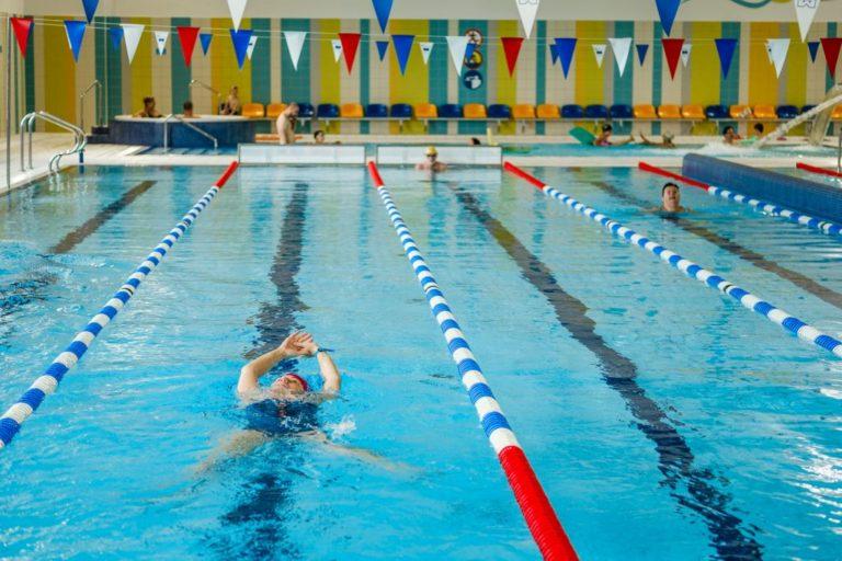 Zajęcia zorganizowane na Pływalni Osowa