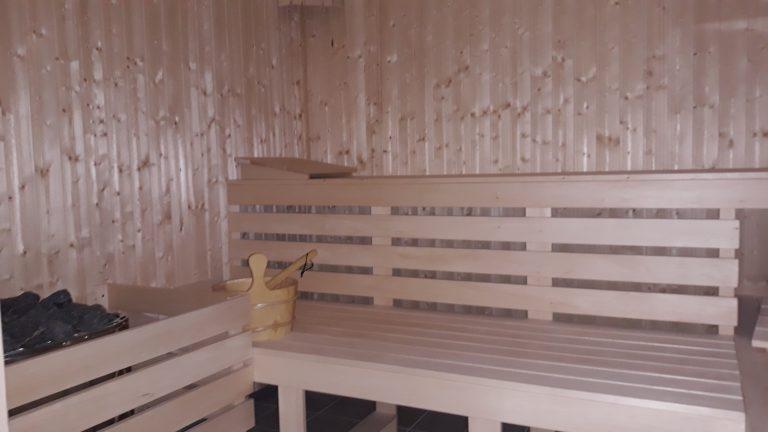 Sauna już OTWARTA
